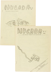 Nugada V2#1 and 2 Fanzine Group (Don Elgeti, 1959) Condition: Average VG.... (Total: 2 Items)