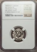 Ancients:Greek, Ancients: THESSALY. Larissa. Ca. 356-342 BC. AR drachm (5.95 gm)....