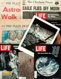 Books:Periodicals, [Moon Landing]. [NASA]. [U.S. Space Program]. Archive of Publications and Photos Relating to the July, 1969 Moon Landing. ... (Total: 9 Items)