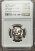 Ancients:Greek, Ancients: ATTICA. Athens. Ca. 454-404 BC. AR tetradrachm (17.04gm). ...