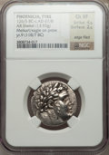 Ancients:Greek, Ancients: PHOENICIA. Tyre. Ca. 126/5 BC-AD 65/6. AR shekel (13.93gm). ...