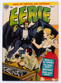 Golden Age (1938-1955):Horror, Eerie #7 (Avon, 1952) Condition: FN+....
