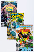 Modern Age (1980-Present):Superhero, DC Modern Age Group (DC, 1980-92) Condition: Average NM-....(Total: 10 Comic Books)