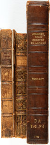 Books:Literature Pre-1900, [Poetry.] Two Books of Poetry by Thomas Parnell [with:] The Journey from Chester to London, for good measure... (Total: 3 Items)