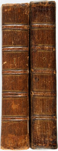 Books:Medicine, Daniel Turner. The Art of Surgery... in Two Volumes. London:C. Rivington and J. Clarke, 1736. Complete set.... (Total: 2 Items)