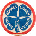 Political:Pinback Buttons (1896-present), Charles Evans Hughes: A Deceptively Rare 1-inch Coat-Tail Variety....