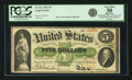 Fr. 61c $5 1862 Legal Tender PCGS Very Fine 30 Apparent