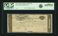 """Fr. TN-12 $20 March 25, 1815 """"Act of February 24, 1815"""" Remainder. PCGS New 62PPQ"""