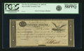 """Fr. TN-15a $5 March 25, 1815 """"Act of February 24, 1815"""" Double Signature Remainder. PCGS Choice About New 58PP..."""