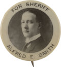 Political:Pinback Buttons (1896-present), Al Smith: A Scarce Early 7/8-inch Variety.. ...