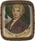 Political:Small Miscellaneous (pre-1896), James Monroe: A Possibly Unique Portrait Brooch for this Fifth US President....