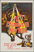 "Movie Posters:Science Fiction, The Colossus of New York (Paramount, 1958). One Sheet (27"" X 41"").Science Fiction.. ..."