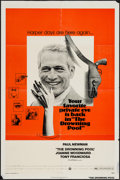 "Movie Posters:Mystery, The Drowning Pool (Warner Brothers, 1975). One Sheet (27"" X 41"").Mystery.. ..."