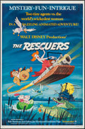 "Movie Posters:Animation, The Rescuers & Others Lot (Buena Vista, 1977). One Sheets (4)(27"" X 41""). Animation.. ... (Total: 4 Items)"