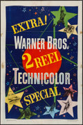 "Movie Posters:Short Subject, 2 Reel Technicolor (Warner Brothers, 1949). Stock One Sheet (27"" X41""). Short Subject.. ..."