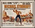 "Movie Posters:Adventure, Michael Strogoff & Other Lot (Continental, 1960). Half Sheet(22"" X 28"") & One Sheet (27"" X 41""). Adventure.. ... (Total: 2Items)"