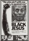 "Movie Posters:Blaxploitation, Black Jesus (Sig Shore International, 1968). One Sheet (27"" X 38""). Blaxploitation.. ..."