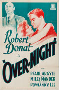 """That Night in London (Mundus, R-1934). Leader Press One Sheet (27"""" X 41"""") Crime. Reissue Title: Over-Night..."""