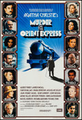 """Movie Posters:Mystery, Murder on the Orient Express (EMI, 1974). British One Sheet (27"""" X40""""). Mystery.. ..."""
