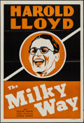 "Movie Posters:Comedy, The Milky Way (Paramount, 1936). Leader Press One Sheet (28"" X 41""). Comedy.. ..."