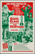"Movie Posters:Fantasy, Santa Claus Conquers the Martians (Embassy, 1964). One Sheet (27"" X 41"") & Lobby Card Set of 4 (11"" X 14""). Fantasy.. ... (Total: 5 Items)"
