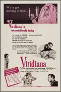 """Movie Posters:Foreign, Viridiana (Kingsley International, 1962). One Sheet (27"""" X 41"""") & Lobby Card Set of 4 (11"""" X 14""""). Foreign.. ... (Total: 5 Items)"""