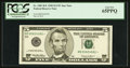 Fr. 1987-B* $5 1999 Federal Reserve Star Note. PCGS Gem New 65PPQ
