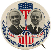 Harding & Coolidge: An Utterly Spectacular 2 ¼-inch Jugate Design