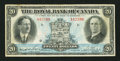Canadian Currency: , Montreal, PQ - The Royal Bank of Canada $20 Jan. 3, 1927 Ch. # 630-14-12. ...