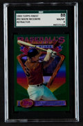 Baseball Cards:Singles (1970-Now), 1993 Topps Finest Refractor Mark McGwire #92 SGC 88 NM/MT 8....