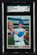 Baseball Cards:Singles (1970-Now), 1970 Topps Nolan Ryan #712 SGC 82 EX/MT+ 6.5....
