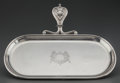 Silver Holloware, Continental:Holloware, A BUCCELLATI SILVER SILENT BUTLER TRAY, Milan, Italy, circa 1940.Marks: BUCCELLATI, ITALY, STERLING, (star-32-M). 1-7/8...