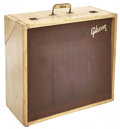 Musical Instruments:Amplifiers, PA, & Effects, Circa 1960 Gibson GA-100 Tweed Bass Guitar Amplifier, Serial #200137....