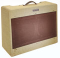 Musical Instruments:Amplifiers, PA, & Effects, 1953 Fender Twin Amp Tweed Guitar Amplifier, Serial # 0051....