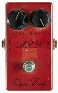 Musical Instruments:Amplifiers, PA, & Effects, 1970's MXR Dyna-Comp Red Compressor Pedal....