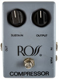 Musical Instruments:Amplifiers, PA, & Effects, 1970's Ross Grey Compressor Pedal....