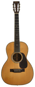 Musical Instruments:Acoustic Guitars, 1942 Martin 00-42 Natural Acoustic Guitar, Serial # 80652....