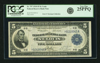 Fr. 797 $5 1918 Federal Reserve Bank Note PCGS Very Fine 25PPQ