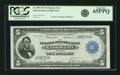 Fr. 800 $5 1915 Federal Reserve Bank Note PCGS Gem New 65PPQ