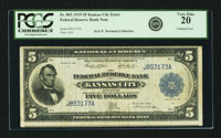 Fr. 802 $5 1915 Federal Reserve Bank Note PCGS Very Fine 20