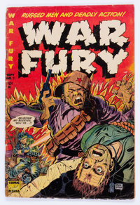 War Fury #1 (Comic Media, 1952) Condition: GD