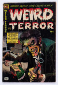 Golden Age (1938-1955):Horror, Weird Terror #9 (Comic Media, 1954) Condition: Apparent GD....
