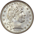 Barber Quarters, 1912-S 25C MS68 NGC....