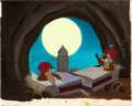 Animation Art:Presentation Cel, Test Pilot Donald Chip 'n' Dale Presentation Cel and keyMaster Background Setup (Walt Disney, 1951)....
