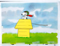 Animation Art:Production Cel, The Charlie Brown and Snoopy Show Flying Ace Production CelSequence and Drawing Group (Bill Melendez, 1982).... (Total: 6 )