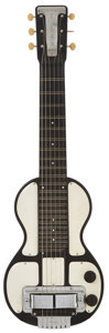 Musical Instruments:Lap Steel Guitars, 1940 Rickenbacker Electro Model B Black Lap Steel Guitar....