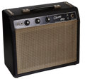 Musical Instruments:Amplifiers, PA, & Effects, 1964 Fender Champ Black Guitar Amplifier, Serial # A00180....