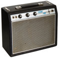 Musical Instruments:Amplifiers, PA, & Effects, 1968 Fender Champ Black Guitar Amplifier, Serial # A13628....