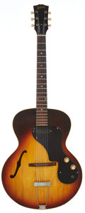 Musical Instruments:Electric Guitars, 1964 Gibson ES-120 T Sunburst Semi-Hollow Body Electric Guitar,Serial # 234932....