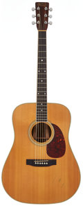 Musical Instruments:Acoustic Guitars, 1985 Martin D3532 Shenandoah Natural Acoustic Electric Guitar,Serial # 456767....